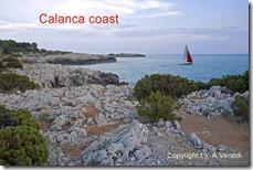 Calanca coast