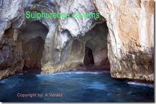 sulphureous grottos