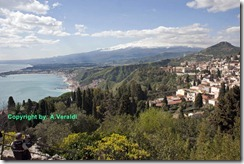 Taormina landscape