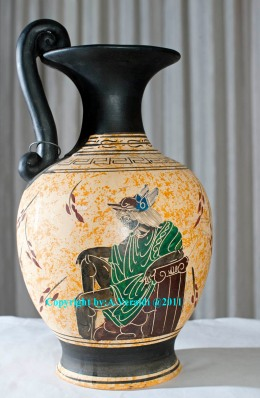 Greek vase reproduction