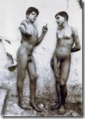 """Wilhelm von Gloeden, """"Amore e arte"""""""