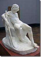 """""""Sleeping Shepherd Boy"""", Adolf von Hildebrand"""