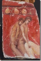 Homosexual threesome, Pompeii