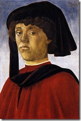 Young Man, Botticelli