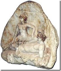 Museum_Nazionale_Napoli, Relief_From_Pompeji