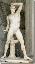 Creugas statue, Canova