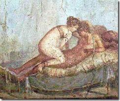 Roman Lupanare at Pompeiis
