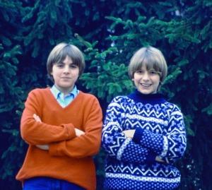 Franco e Giovanni agli inizi della nostra conoscenza
