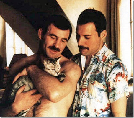 Freddie con Jim Hutton