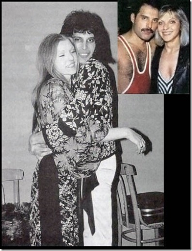 Mary Austin with Freddie